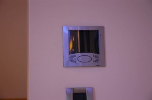 The private heating and cooling system of the guest room