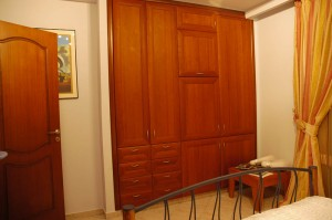 The third bedroom on the second floor (wardrobe)
